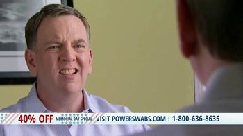 Power Swabs Memorial Day Special TV Spot, 'Clinically Studied' - Thumbnail 5