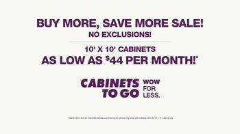 Cabinets To Go Buy More, Save More Sale TV Spot, 'Your Next Wow: $44 Per month' - Thumbnail 9