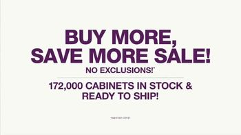 Cabinets To Go Buy More, Save More Sale TV Spot, 'Your Next Wow: $44 Per month' - Thumbnail 3