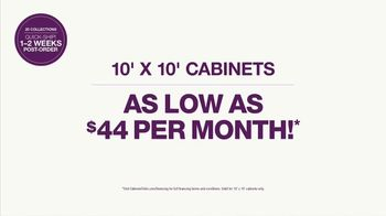 Cabinets To Go Buy More, Save More Sale TV Spot, 'Your Next Wow: $44 Per month' - Thumbnail 7