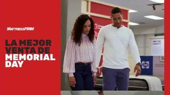 Mattress Firm Mejor Venta de Memorial Day TV Spot, '$47 dólares al mes' [Spanish]