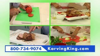 Karving King Dripless Cutting Board 2 in 1 System TV Spot, 'The Perfect Meat' - Thumbnail 4