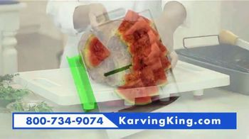 Karving King Dripless Cutting Board 2 in 1 System TV Spot, 'The Perfect Meat' - Thumbnail 5
