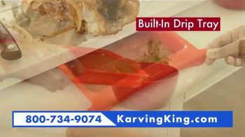 Karving King Dripless Cutting Board 2 in 1 System TV Spot, 'The Perfect Meat' - Thumbnail 6