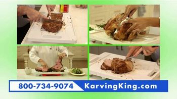Karving King Dripless Cutting Board 2 in 1 System TV Spot, 'The Perfect Meat' - Thumbnail 7