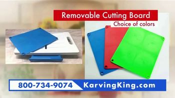 Karving King Dripless Cutting Board 2 in 1 System TV Spot, 'The Perfect Meat' - Thumbnail 8