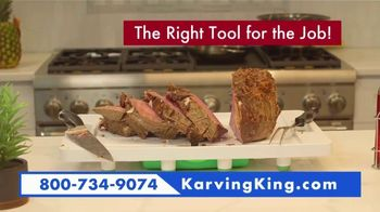 Karving King Dripless Cutting Board 2 in 1 System TV Spot, 'The Perfect Meat' - Thumbnail 9