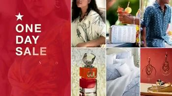 Macy's One Day Sale TV Spot, 'Deals of the Day: Ninja Foodi, Dinnerware and Bedding'