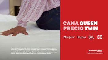 Mattress Firm Mejor Venta de Memorial Day TV Spot, 'Cama King a precio Queen' [Spanish] - Thumbnail 4