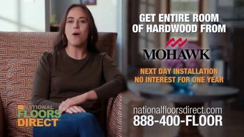 National Floors Direct TV Spot, 'Mohawk Hardwood Flooring: $999' - Thumbnail 8
