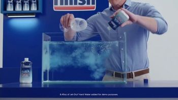 Finish Jet-Dry Hard Water TV Spot, 'Cloudiness and Spots' - Thumbnail 5