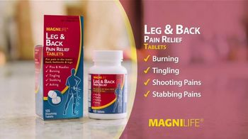 MagniLife Leg & Back Pain Relief Tablets TV Spot, 'Tired of Pain?' - Thumbnail 4