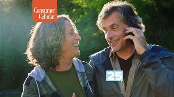 Consumer Cellular TV Spot, 'NBY Flexible Plans: $25 Off' - Thumbnail 7