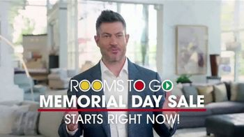 Rooms to Go Memorial Day Sale TV Spot, 'Make Home Perfect' Featuring Jesse Palmer