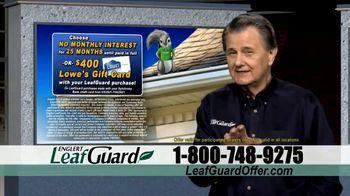 LeafGuard $99 Install Sale TV Spot, 'Proud' - Thumbnail 4