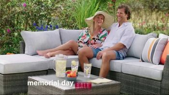 Ashley HomeStore Memorial Day Sale TV Spot, 'Up to 30% Off and 0% Interest, No Minimum Purchase' - Thumbnail 2