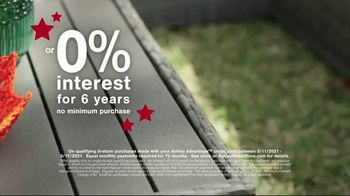 Ashley HomeStore Memorial Day Sale TV Spot, 'Up to 30% Off and 0% Interest, No Minimum Purchase' - Thumbnail 5