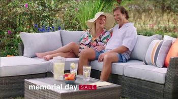 Ashley HomeStore Memorial Day Sale TV Spot, 'Up to 30% Off and No Interest: Dining Set and Bed' - Thumbnail 1