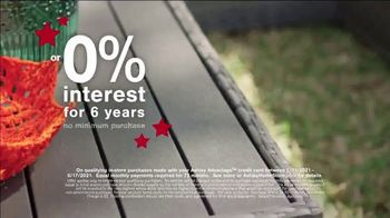 Ashley HomeStore Memorial Day Sale TV Spot, 'Up to 30% Off and No Interest: Dining Set and Bed' - Thumbnail 3