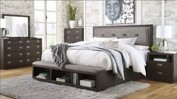 Ashley HomeStore Memorial Day Sale TV Spot, 'Up to 30% Off and No Interest: Dining Set and Bed' - Thumbnail 6