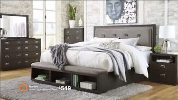 Ashley HomeStore Memorial Day Sale TV Spot, 'Up to 30% Off and No Interest: Dining Set and Bed' - Thumbnail 7