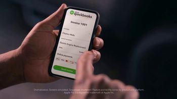 QuickBooks TV Spot, 'Payments Go Big: Face Mechanic and Friends' Song by Meghan Trainor - Thumbnail 2