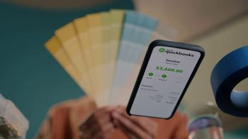 QuickBooks TV Spot, 'Payments Go Big: Face Mechanic and Friends' Song by Meghan Trainor - Thumbnail 8