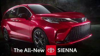 2021 Toyota Sienna TV Spot, 'Modernized Minivan' [T2] - 55 commercial airings