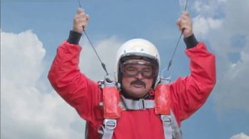 Charmin BRB Bot TV Spot, 'Skydiving' Featuring Guillermo Rodriguez - Thumbnail 8