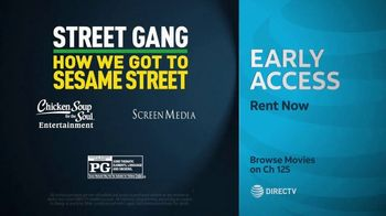 DIRECTV Cinema TV Spot, 'Street Gang: How We Got to Sesame Street' - Thumbnail 10