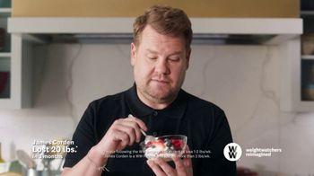 WW TV Spot, 'Zero Points: Three Months Free: Insider Box' Featuring James Corden