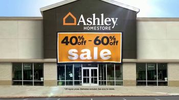Ashley HomeStore 40% Off - 60% Off Sale TV Spot, 'Lowest Prices of the Season: Sofas, Sectionals, Mattresses' - Thumbnail 2