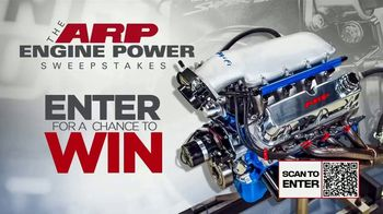 ARP Engine Power SweepstakesTV Spot, 'Enter for a Chance to Win'