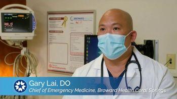 Broward Health TV Spot, 'Decline in ER Visits: Glenda'