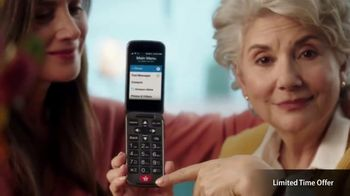 GreatCall Lively Flip TV Spot, 'Touch of a Button: Mother's Day'