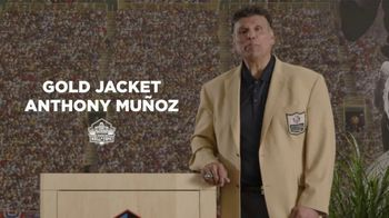 Pro Football Hall of Fame TV Spot, 'Count on Me: Anthony Muñoz'