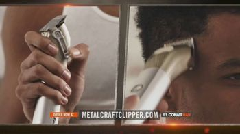 ConairMAN MetalCraft TV Spot, 'Cut Your Hair Like a Pro' - Thumbnail 1