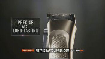 ConairMAN MetalCraft TV Spot, 'Cut Your Hair Like a Pro' - Thumbnail 2