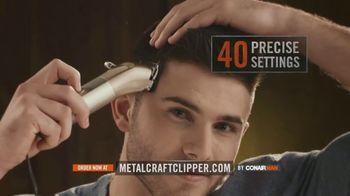 ConairMAN MetalCraft TV Spot, 'Cut Your Hair Like a Pro' - Thumbnail 3
