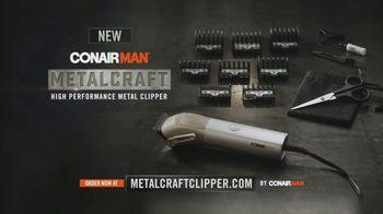 ConairMAN MetalCraft TV Spot, 'Cut Your Hair Like a Pro' - Thumbnail 4