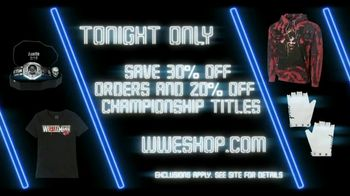 WWE Shop TV Spot, 'Dance Like No One Is Watching: Save 30% Off Orders and 20% Off Titles' Song by Yez Yez - Thumbnail 8