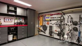 Closet Factory TV Spot, 'Summer Almost Here: Garage Systems'