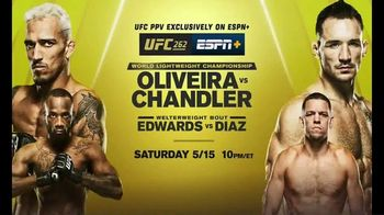 ESPN+ TV Spot, 'UFC 262: Oliveira vs. Chandler' Song by NF