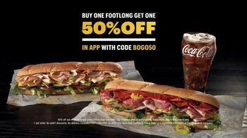 Subway TV Spot, 'Bad Move: BOGO 50%' Featuring Tony Hawk - Thumbnail 9