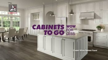 Cabinets To Go TV Spot, 'Savings in Stock' - Thumbnail 1