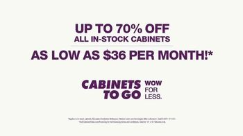 Cabinets To Go TV Spot, 'Savings in Stock' - Thumbnail 9