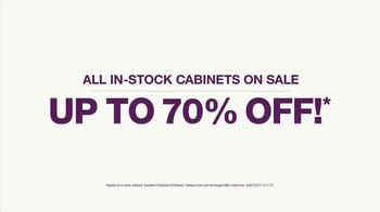 Cabinets To Go TV Spot, 'Savings in Stock' - Thumbnail 3