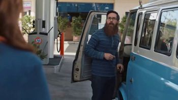 76 Gas Station TV Spot, 'Jean and Gene's Awesome Adventure Road Trip: Gene's Magnificent Beard' - Thumbnail 3