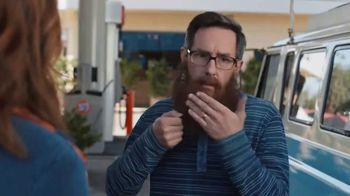 76 Gas Station TV Spot, 'Jean and Gene's Awesome Adventure Road Trip: Gene's Magnificent Beard' - Thumbnail 7