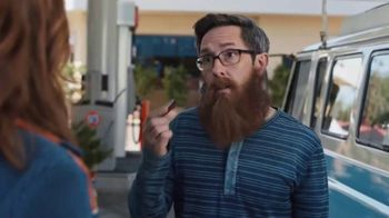 76 Gas Station TV Spot, 'Jean and Gene's Awesome Adventure Road Trip: Gene's Magnificent Beard'